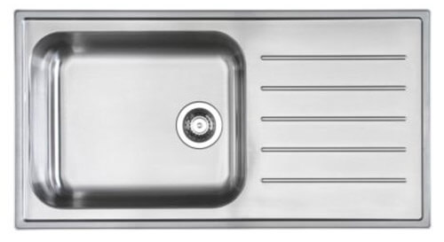 Ikea Boholmen Stainless Drop In Drainboard Sink