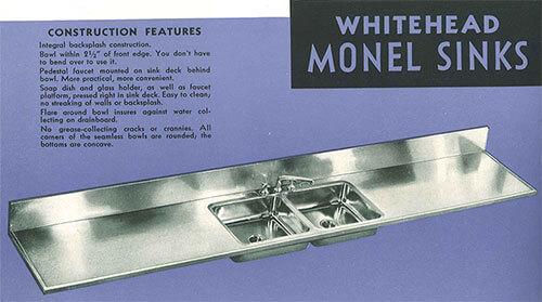 Monel-sink