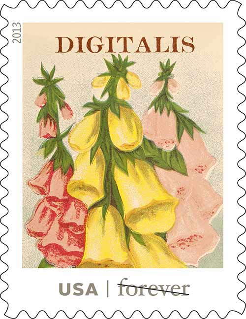 USPS-vintage-seed-packet-stamps-digitalis