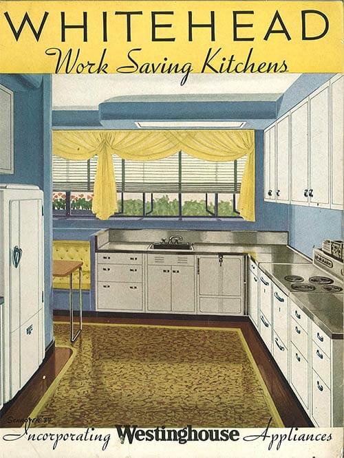Kitchen Cabinets Catalog whitehead steel kitchen cabinets - 20-page catalog from 1937