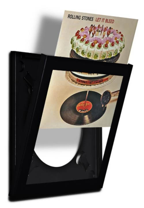 art vinyl record frame open