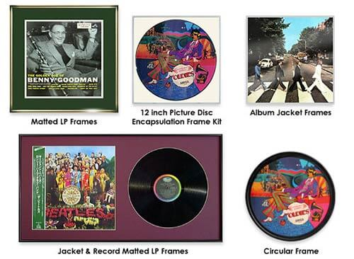 ce35b23f11ef 23 ways to frame your record album covers - Retro Renovation