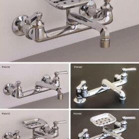 farmhouse kitchen sink faucets