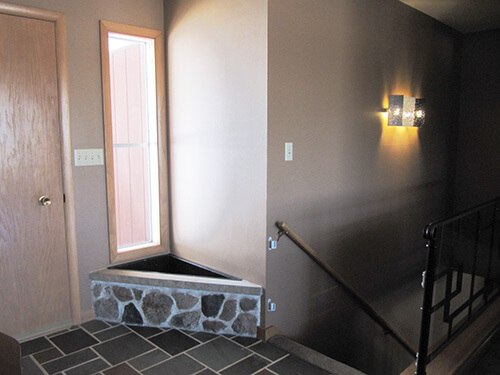 Decorating Ideas For Kate S 1961 Entry Way With A Built In