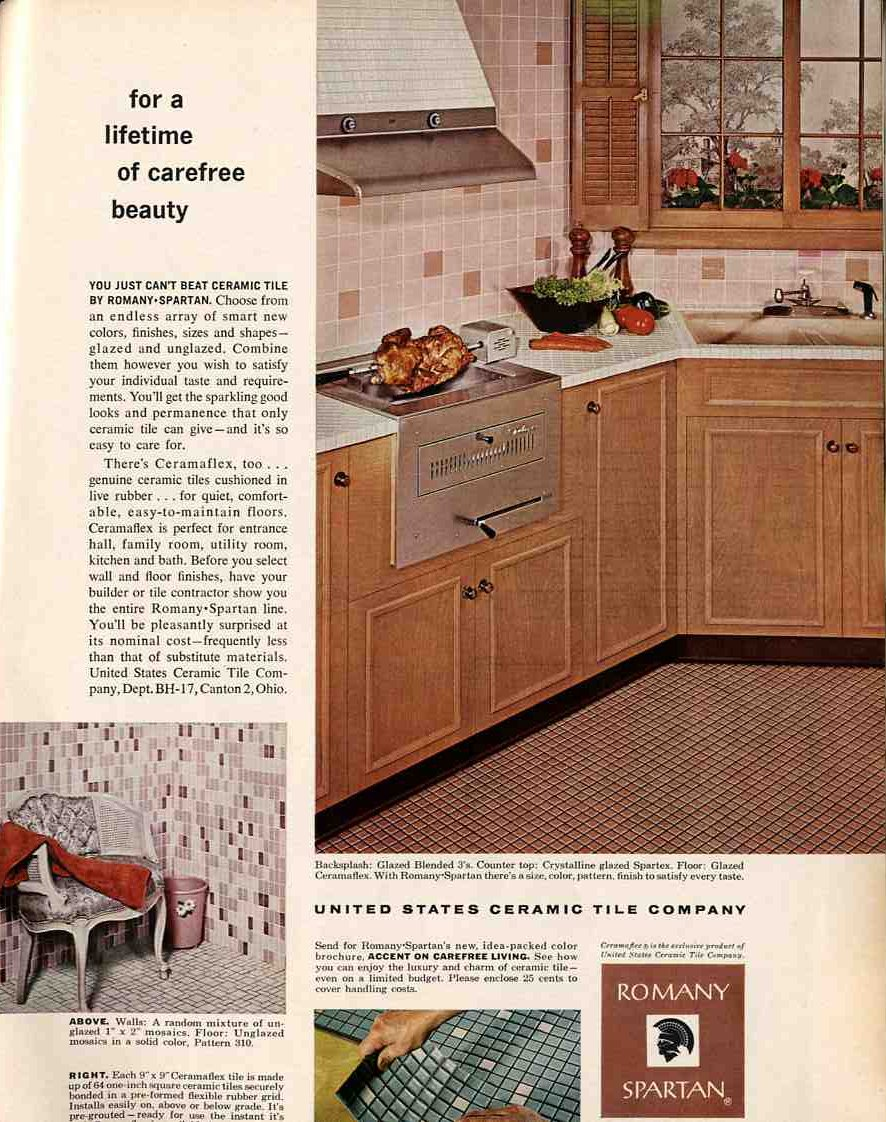 Did They Make Gl Mosaic Tiles In The 1950s And 1960s