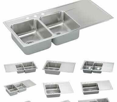 8 Places To Find Drop In Stainless Steel Drainboard Sinks