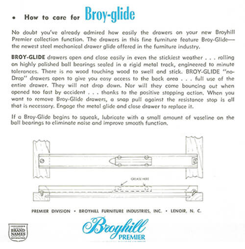 Broyhill Chapter One furniture