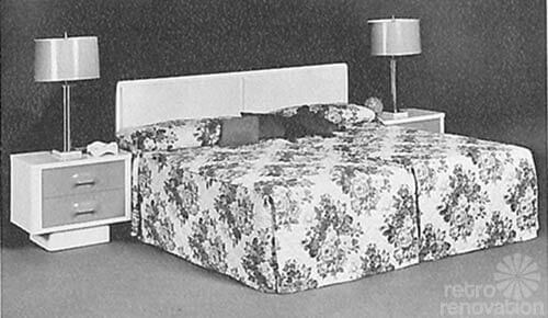 Broyhill Chapter One king sized bed