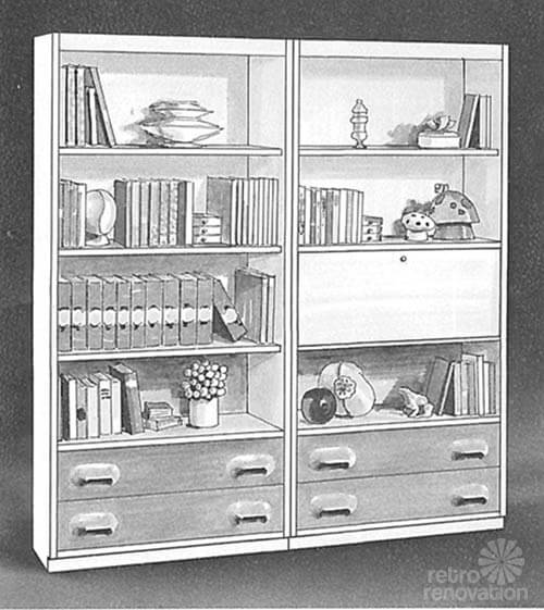 Broyhill Chapter One bookcase