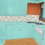 Kitchen-mock-up-aqua-cabinets