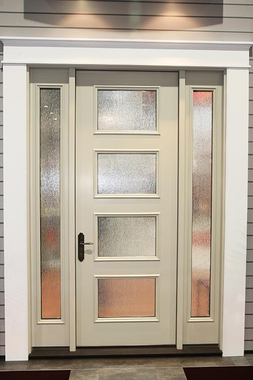 New mid century doors available from therma tru retro Modern white front door