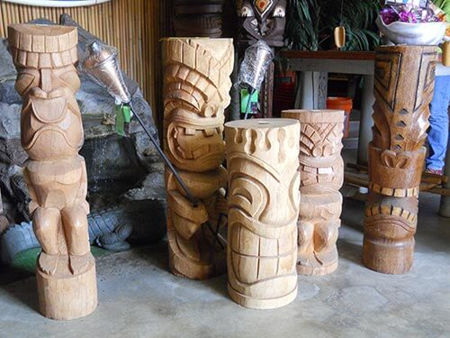 carved-tiki-statues-Oceanic-Arts
