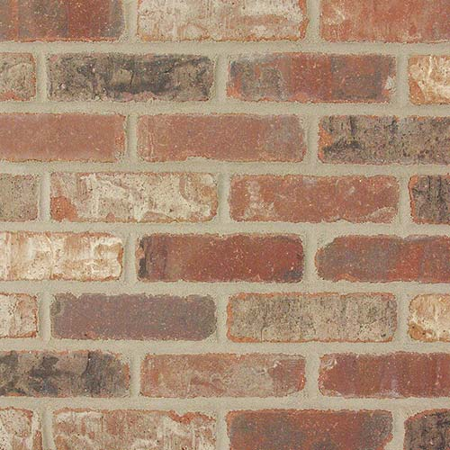 Interior brick veneer made from real bricks from for What is brick veneer siding