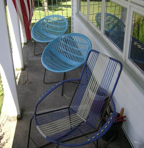 Fabulous solair chairs vintage