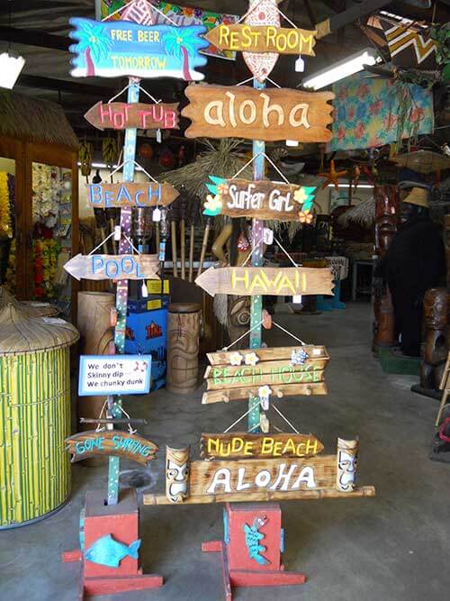 Tiki Decor Motherlode Oceanic Arts Established In 1956