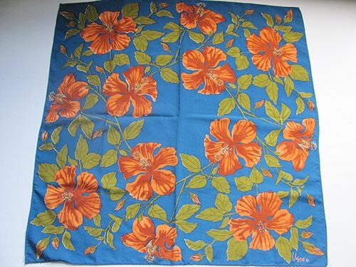 vintage-blue-orange-and-green-floral-vera-scarf
