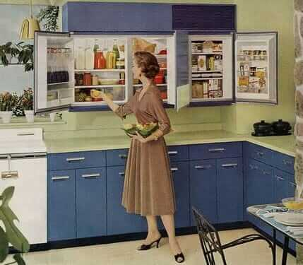 Ge Wall Refrigerator Freezer A 1955 Innovation 5
