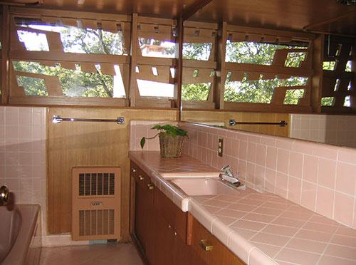 Usonian Home Kitchen