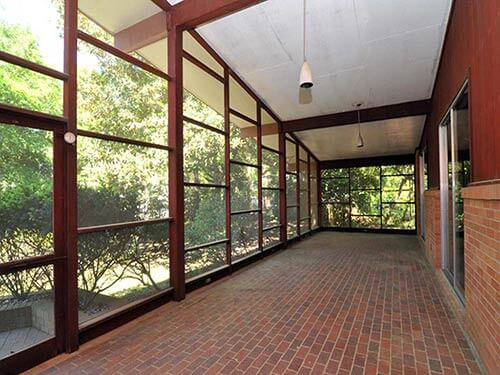 mid-century-Screened-Porch
