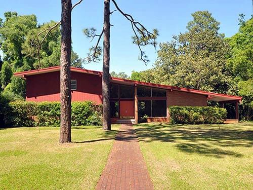mid-century-split-level-house