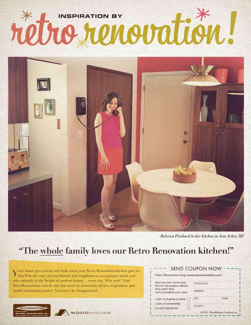 Vintage bathroom ads - Retro Renovation Ad