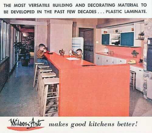 vintage wilsonart ad