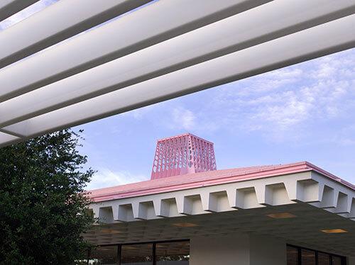 Sunnylands mayan roof