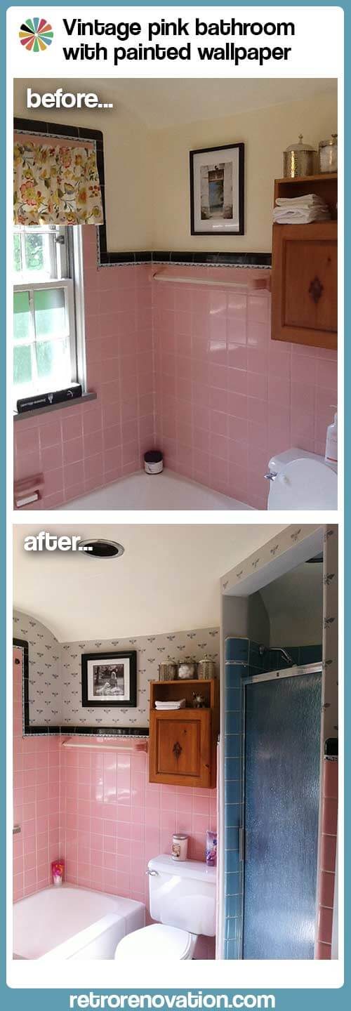 Pink Bath Before And After