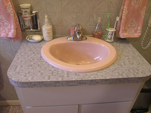 pink bathroom sinks elizabeth s year by 1959 pink 13973