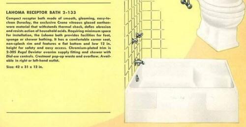 receptor bathtub