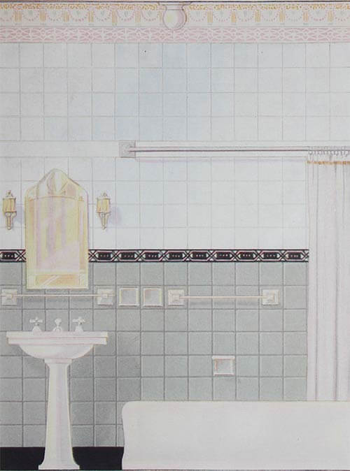 Vintage Tile Bathroom Ideas Part - 30: Retro Renovation