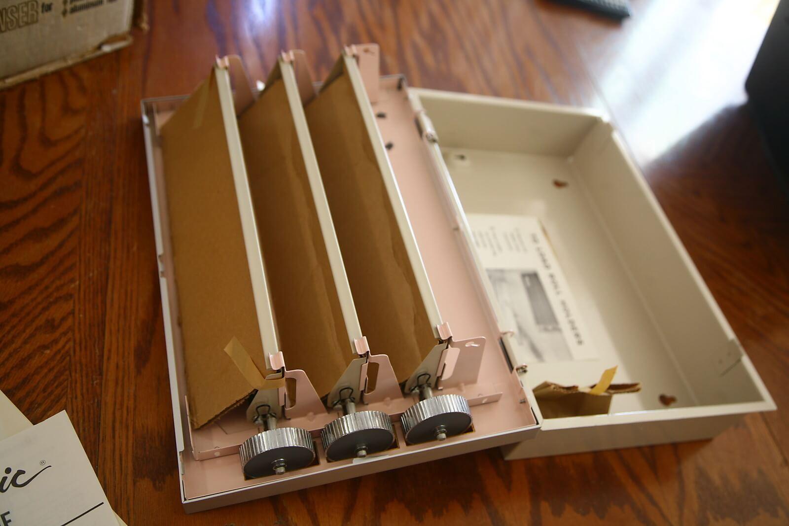 Caloric Caloric Kitchen Wrap Dispenser Vintage Caloric Dispenser Caloric  Caddie