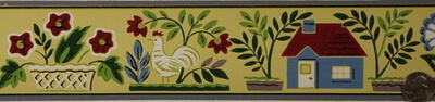 vintage-chicken-wallpaper border