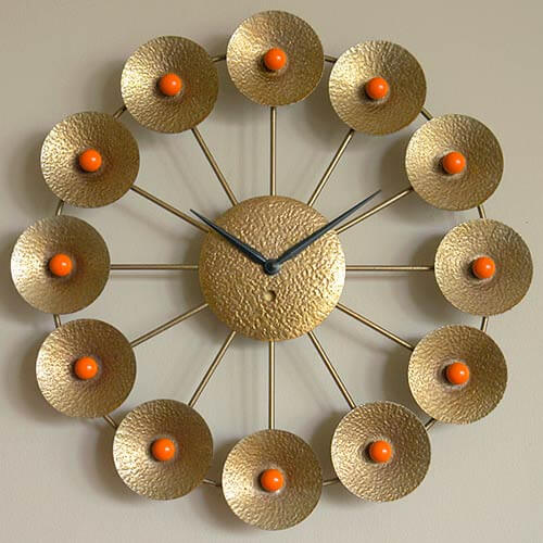 Mid Century Clock Here S Another Starburst