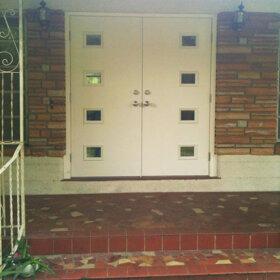 Mid-century-double-doors
