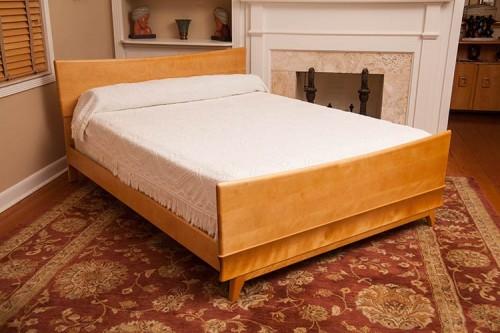 retro vintage bed