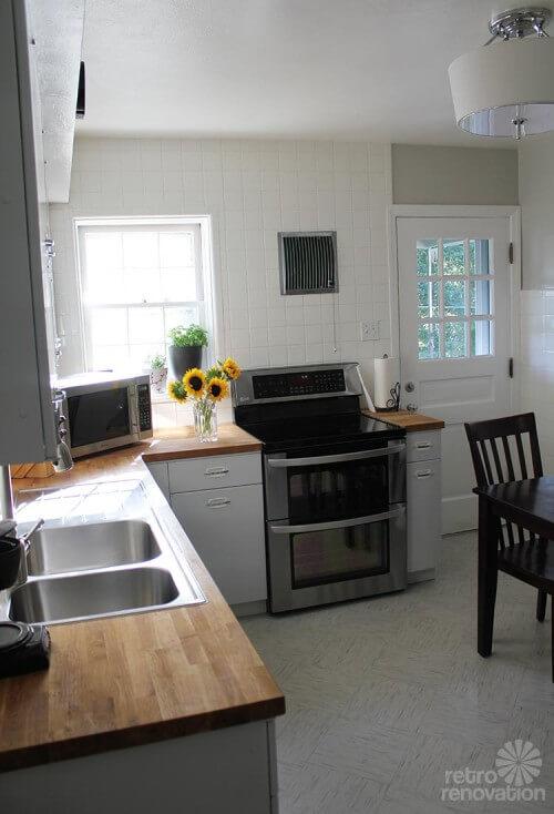 Vintage Geneva Kitchen Cabinets Made Retro Fresh Again In