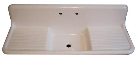 Drainboard Farmhouse Sink