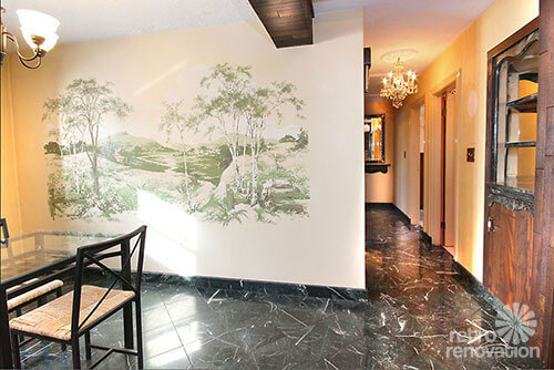 Where to find vintage and vintage style wallpaper murals for Dining room mural wallpaper