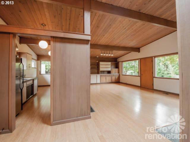 Midcentury modern time capsule house in Portland, Oregon