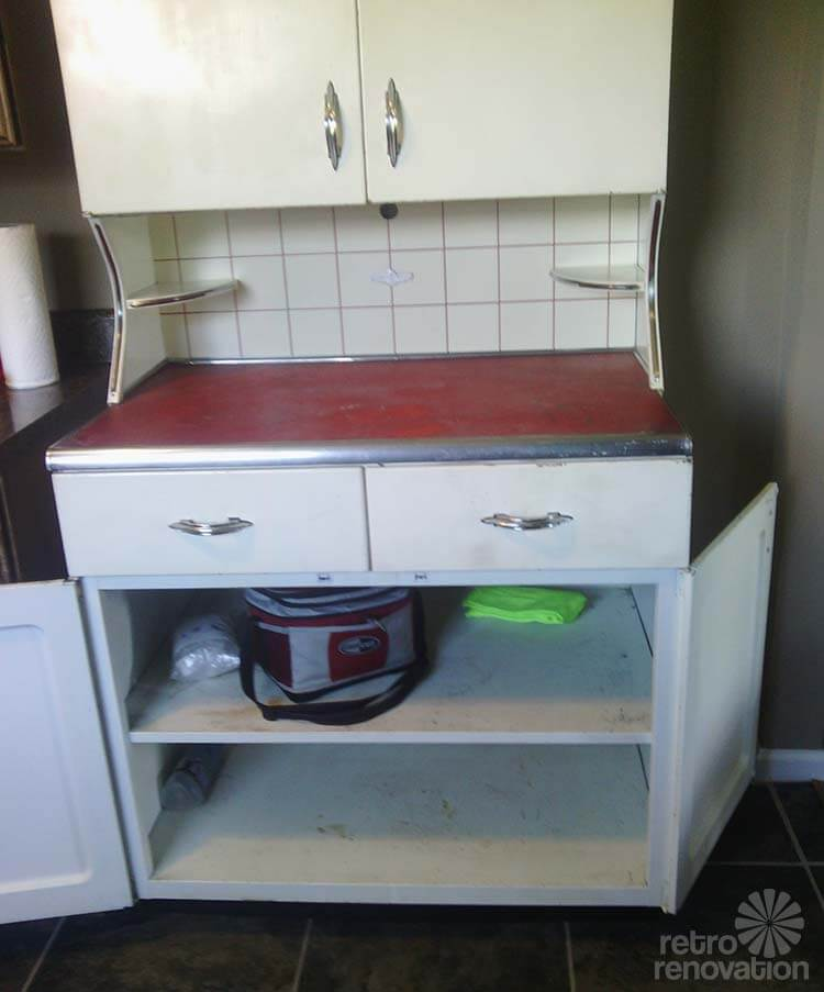 Youngstown Servi Center Super Rare Metal Kitchen Cabinet Retro Renovation