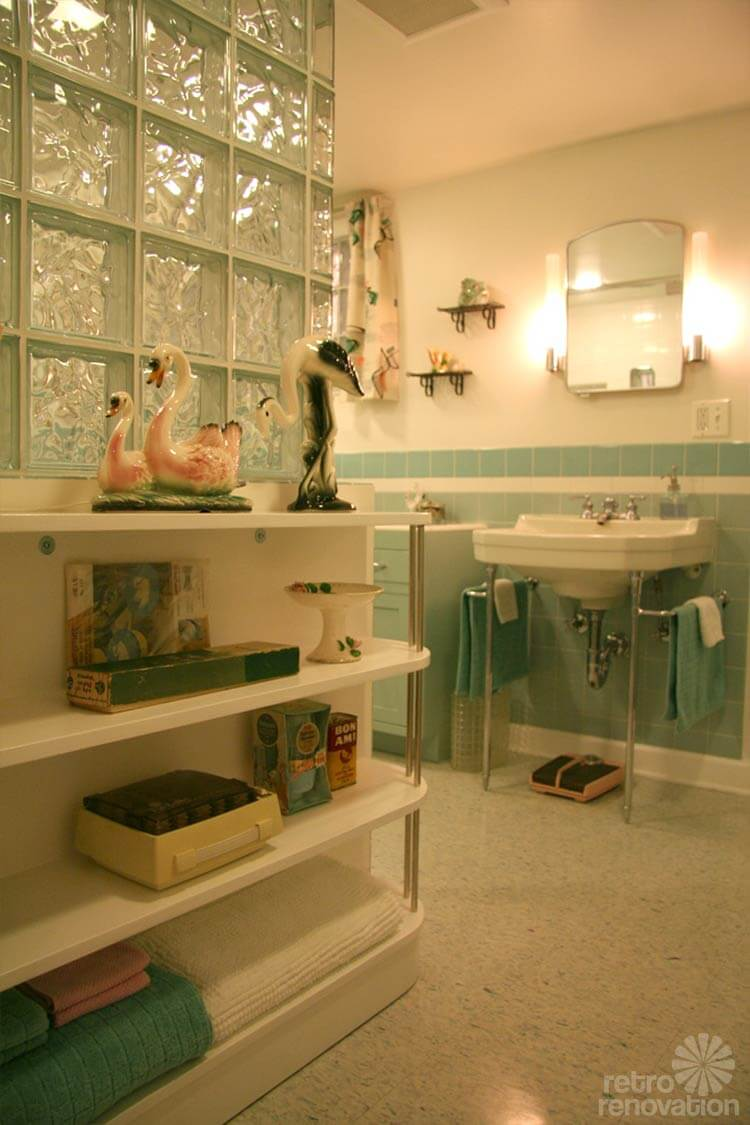 1940s bathroom design gorgeous blue tile bathroom vintage style from scratch 10011