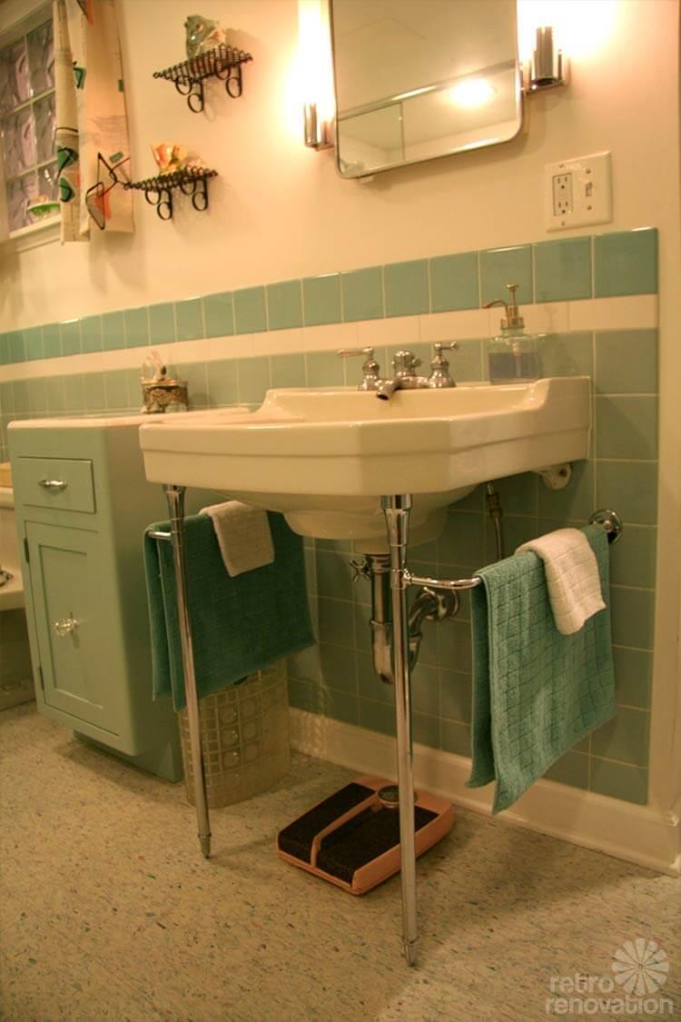 vintage crane bathroom sink