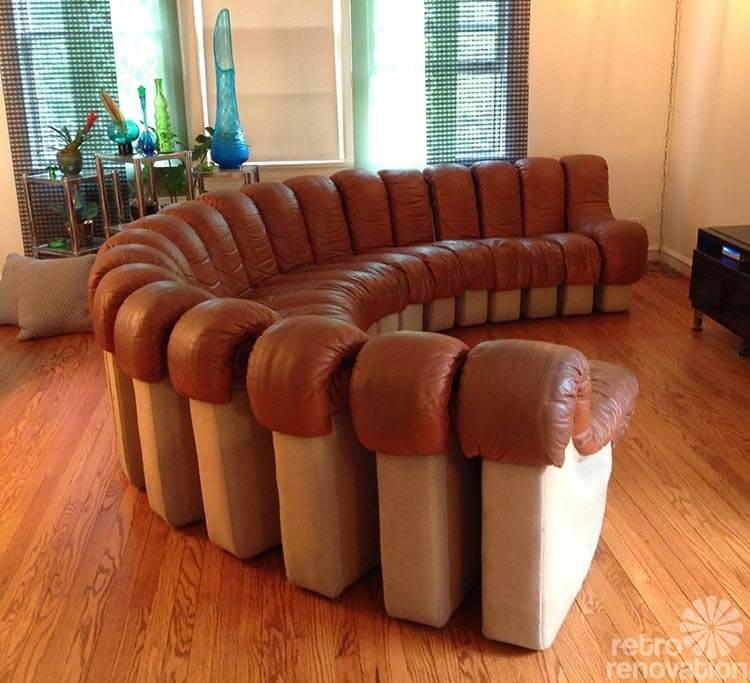 Mid Century Sofa Circular