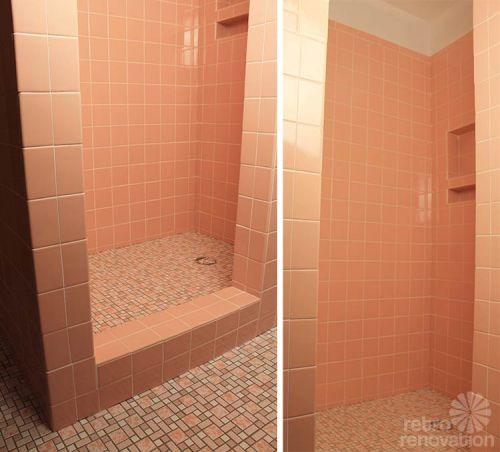 Pink-ceramic-tile-shower