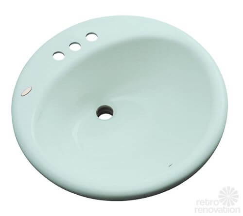 acrylic-mint-green-bathroom-sink