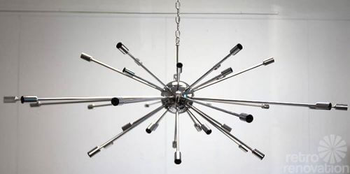 Where to buy sputnik chandelier lights made today practical mid century starburst light mozeypictures Image collections