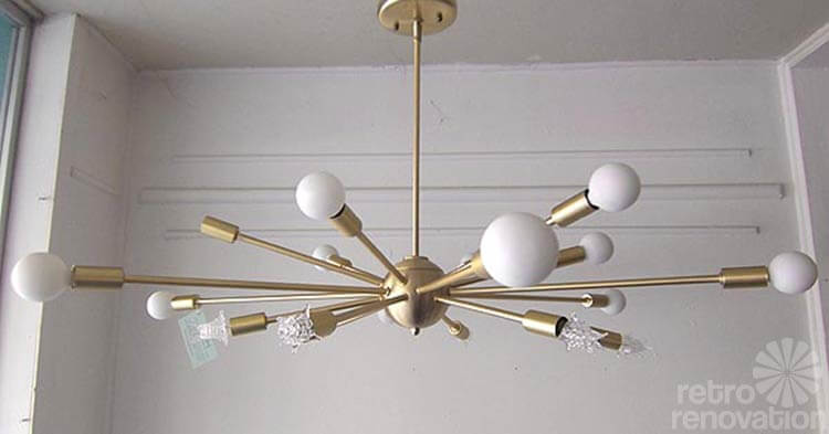 where to buy sputnik chandelier lights made today. Black Bedroom Furniture Sets. Home Design Ideas