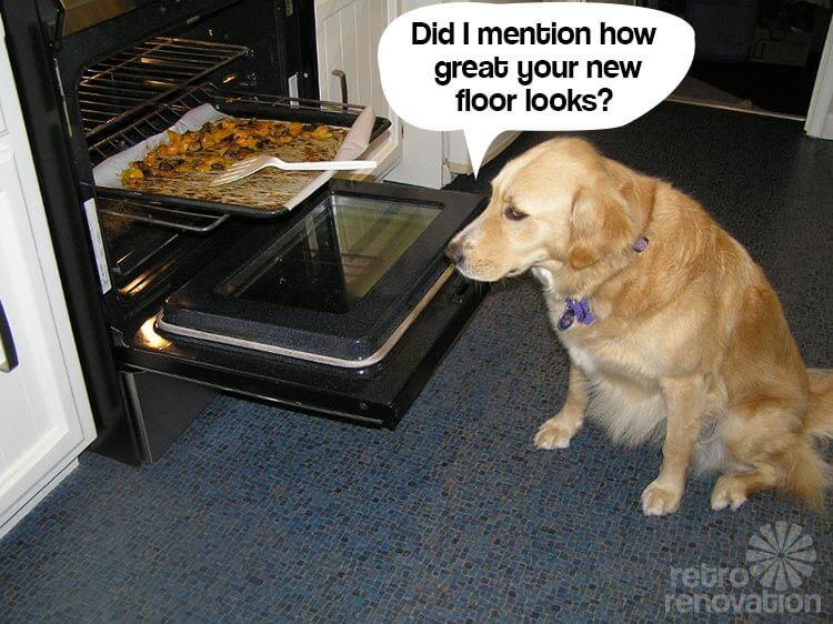 Retro-blue-kitchen-floor
