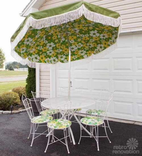Amazing Vintage homecrest patio set